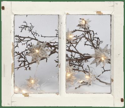 Sterne Aus Papierstreifen Schneemänner Aus