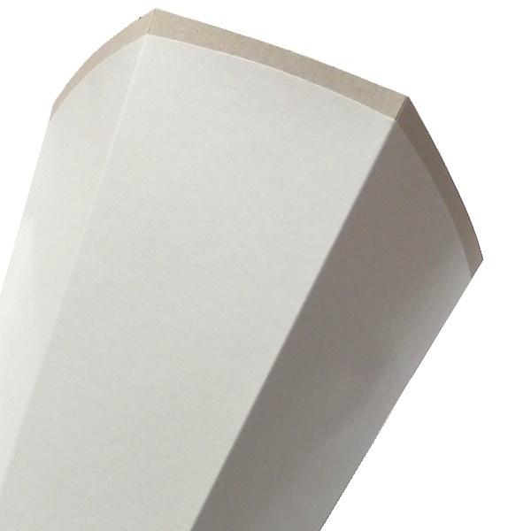 schult te zuckert te bastelt te 85cm rohling wei ohne verschlu. Black Bedroom Furniture Sets. Home Design Ideas