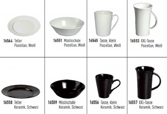 porzellan keramikgeschirr tasse teller schale wei schwarz. Black Bedroom Furniture Sets. Home Design Ideas