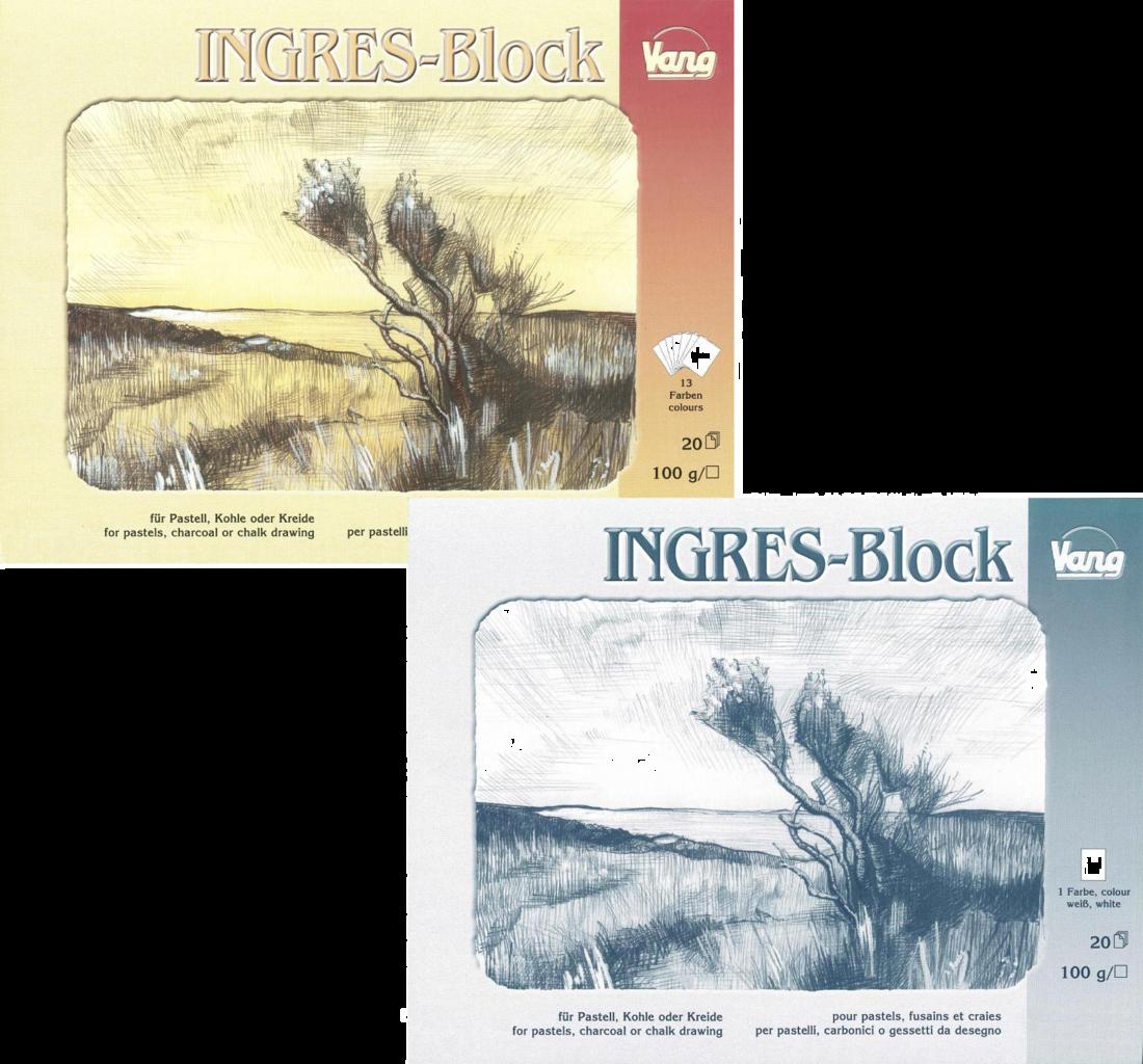 ingres block echtes b ttenpapier farbig wei pastell kohle kreide. Black Bedroom Furniture Sets. Home Design Ideas