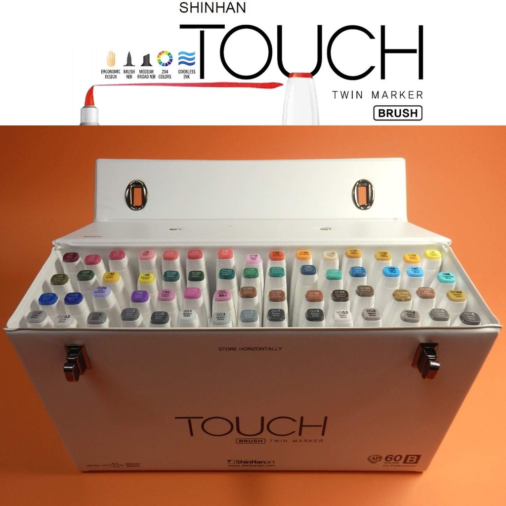 Touch Twin Marker Brush CG4 Layoutmarker Cool Grey