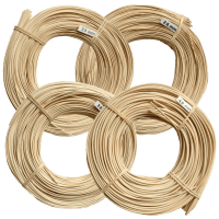 Peddigrohr 500g natur Rotband 2mm 2,25mm 2,5mm 3mm & 4mm