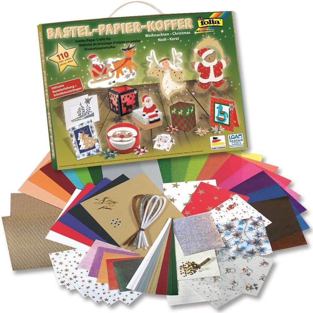 Bastel Papier Koffer \