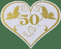 Einladungskarte Dora Zur Goldenen Hochzeit 50 Jahre