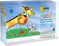 MUCKI Window Color Set - Kleine Tierwelt