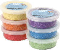 Foam Clay Set - Sortiment Metallic 6x14g