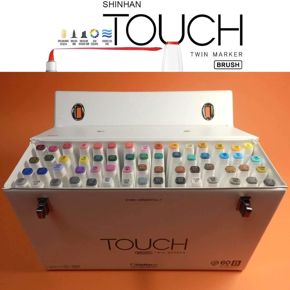 Cool Grey Touch Twin Marker Brush CG1 Layoutmarker