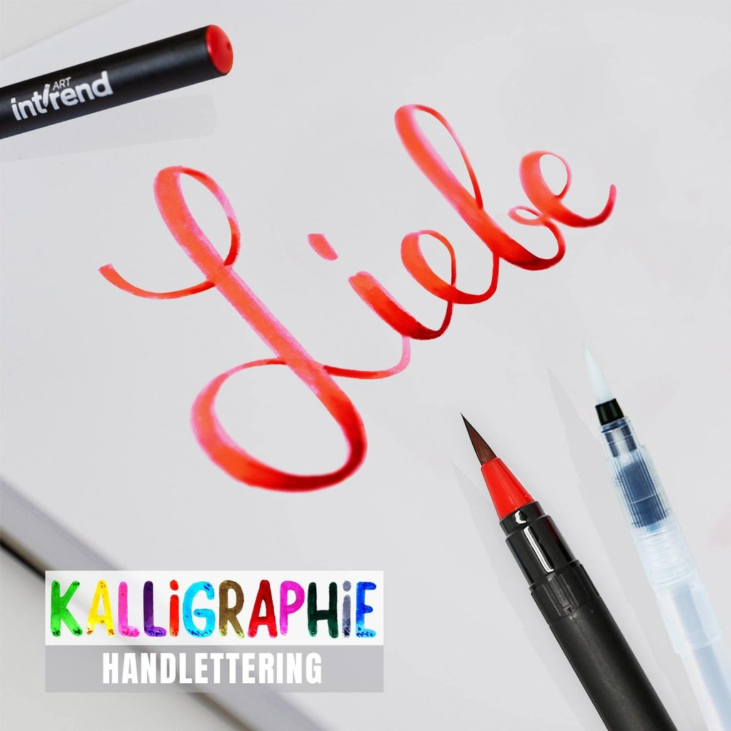 Farbe//24PCS Dual Brush Pen Set 24 Farben,Pinselstifte Pastell,Aquarellfarben Pinselstifte,Watercolor Brush Pen Set,Dual Brush Pen Pastell,Filzstifte f/ür Bullet Journal Zubeh/ör