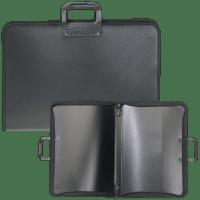 Zeichenkoffer PROTEC Portfolio Transportmappe für Zeichnungen Kunststoff A4-A0