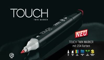 Touch Twin Marker Brush WG0.5 Layoutmarker Warm Grey