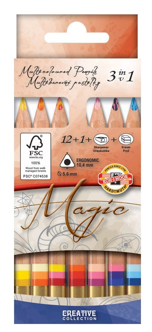 3404N Magic Multicoloured Pencils
