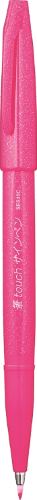 Sign Pen Brush SES15C-P Pink